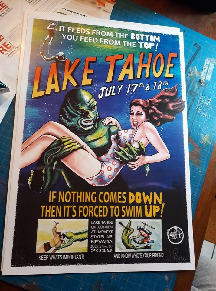Phish Summer 2018 series- LakeTahoe