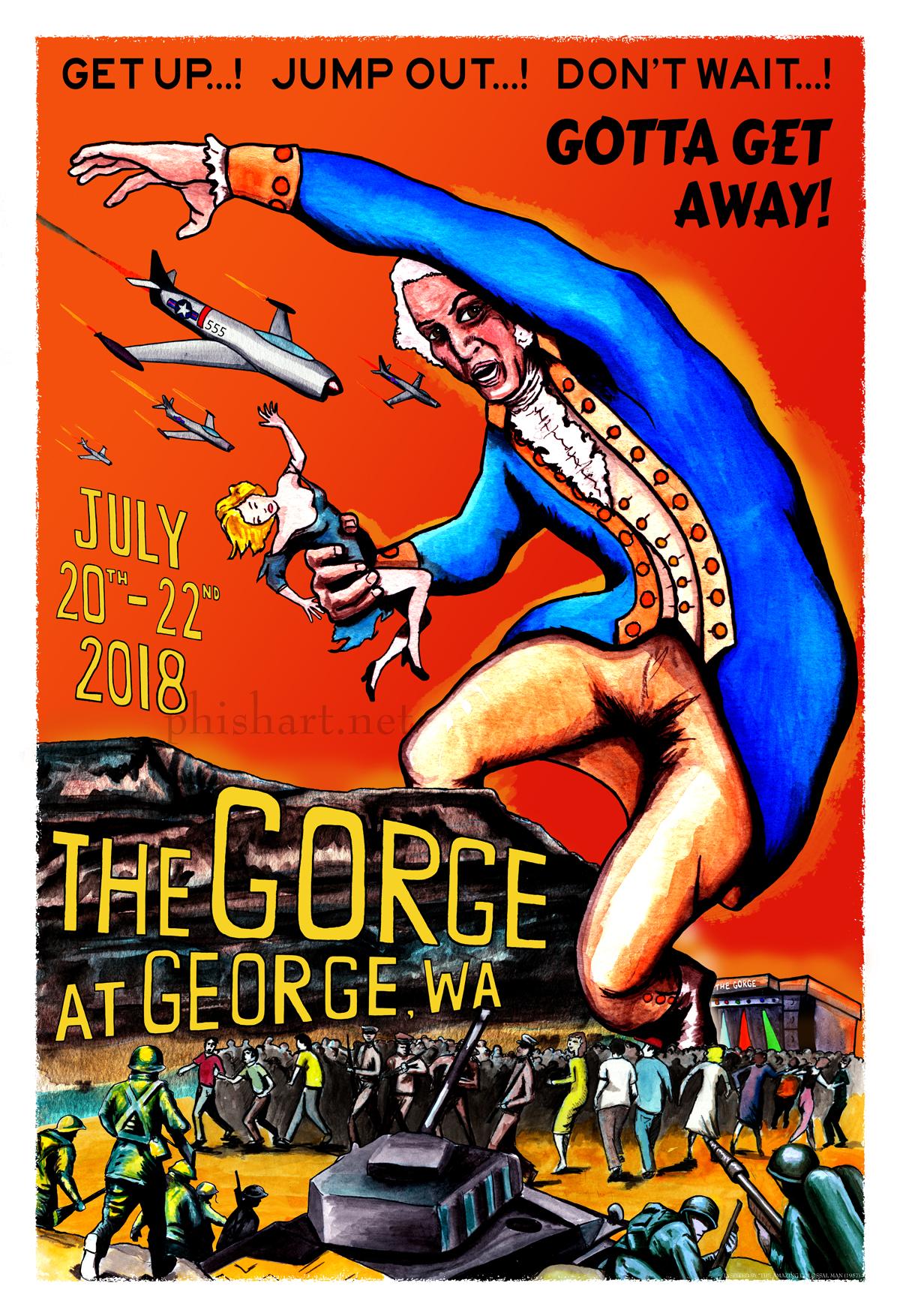 Phish Summer 2018 Series- TheGorge
