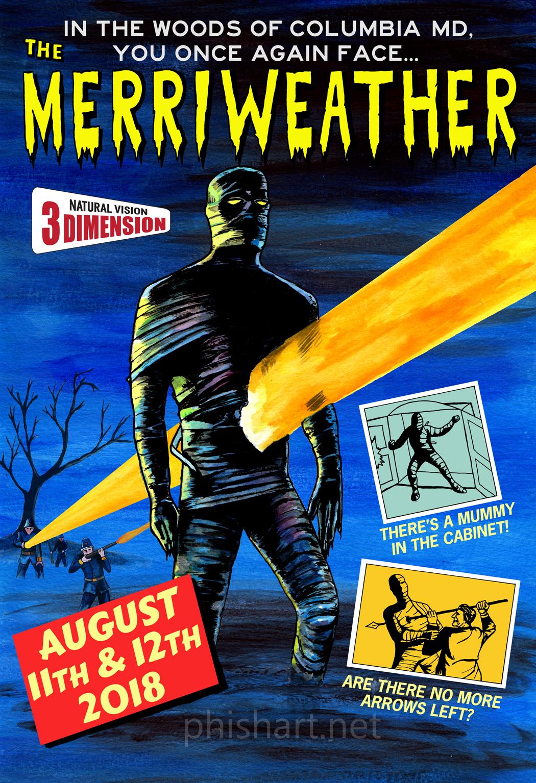 Phish Summer 2018 Series-Merriweather
