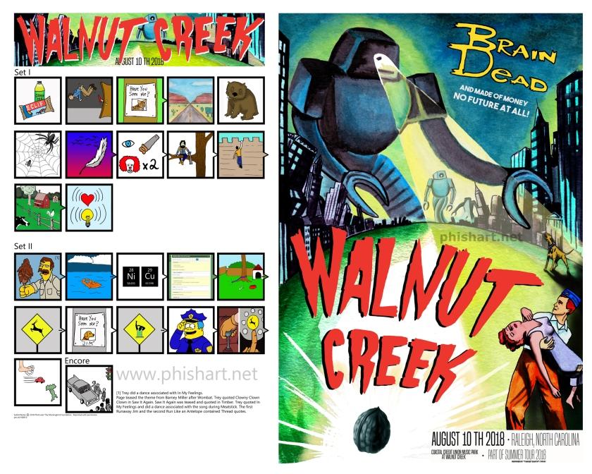 Walnut Creek set poster