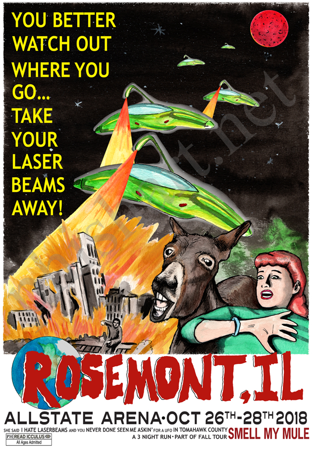 Phish Fall Tour 2018 Series-Rosemont