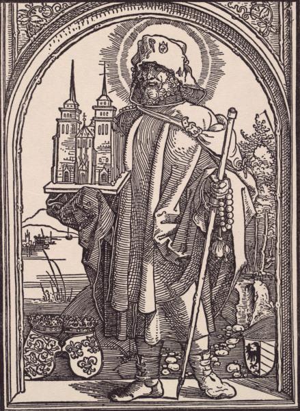 A.Duerer(?), Hl.Sebald - Saint Sebald / Duerer -